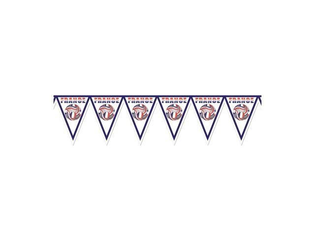 Beistle Home Decorations Party supply Pennant Banner - France 11