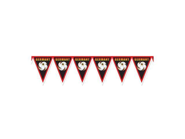 Beistle Home Decorations Party supply Pennant Banner - Germany 11