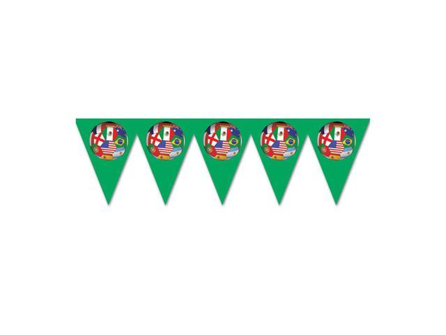 Beistle Home Decorations Party supply Pennant Banner - International 11