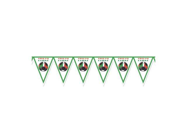Beistle Home Decorations Party supply Pennant Banner - Italy 11