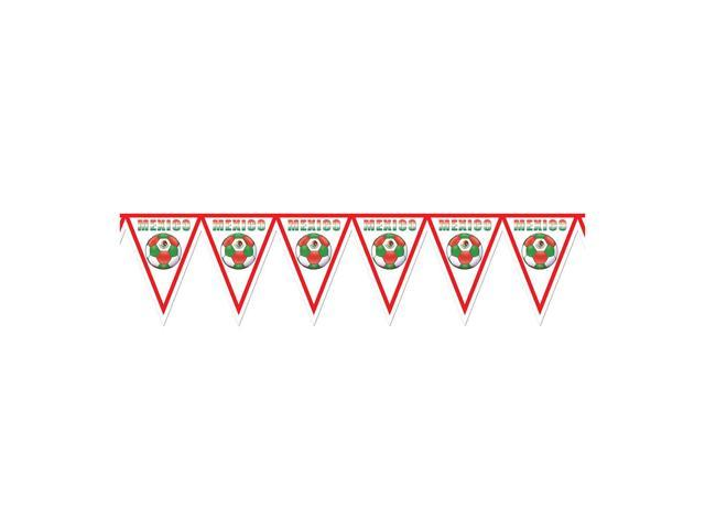 Beistle Home Decorations Party supply Pennant Banner - Mexico 11