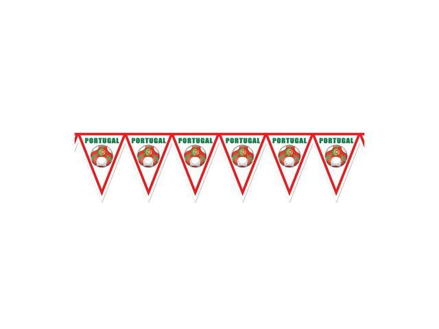 Beistle Home Decorations Party supply Pennant Banner - Portugal 11