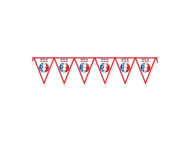 Beistle Home Decorations Party supply Pennant Banner - United States 11