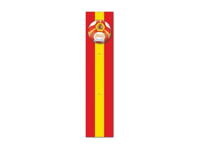 Beistle Home Decorations Party supply Jointed Pull-Down Cutout - Spain 5'