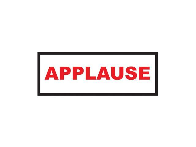 Beistle Home Decorations Party supply Applause Sign 8