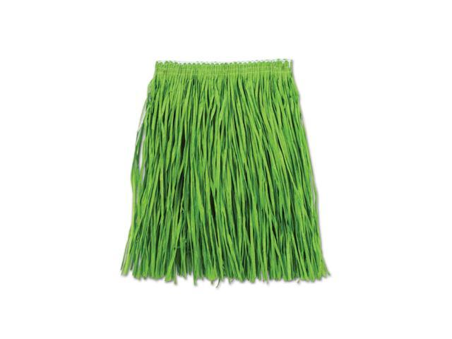 Beistle Home Decorations Party Supply Adult Mini Hula Skirt Green 36