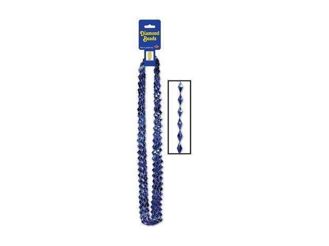 Beistle Home Decorations Party Supply Diamond Beads Blue 36