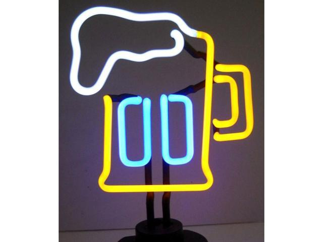 Neonetics Beer Mug Neon Sculpture