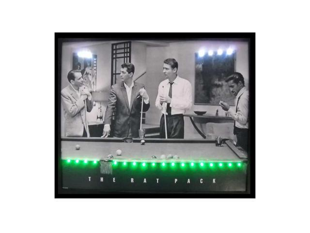 Neonetics Rat Pack Led Poster
