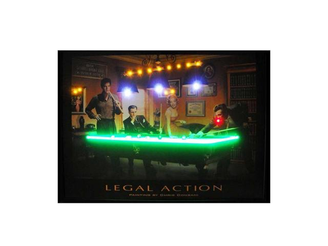 Neonetics Legal Action Neon Led Picture