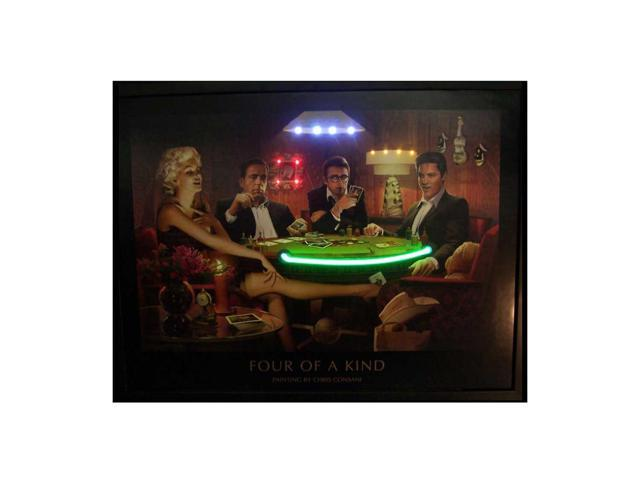 Neonetics Four Of A Kind Neon Led Picture