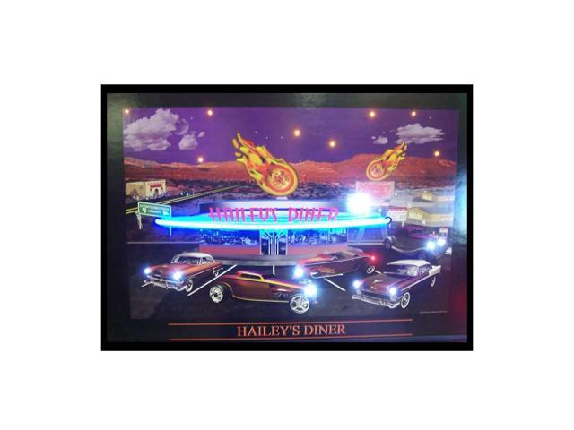 Neonetics Haileys Diner Neon Led Picture