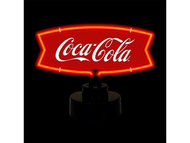 Neonetics Coca-Cola Red And White Fishtail Neon Sculpture