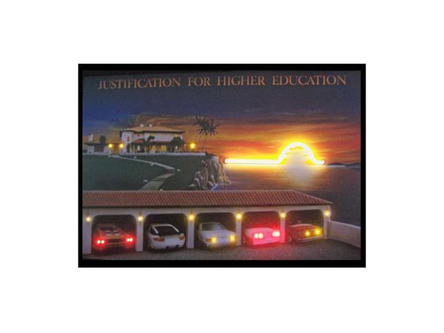 Neonetics Justification For Higher Education Neon Led Picture