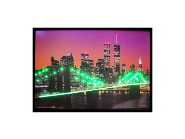 Neonetics New York Skyline Neon Led Picture