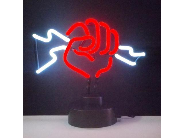Neonetics Fist With Lightning Neon Sculpture