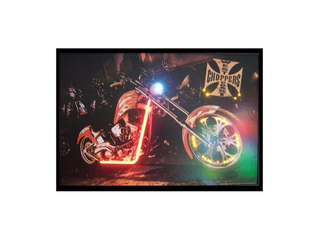 Neonetics West Coast Choppers Bike Neon Led Picture