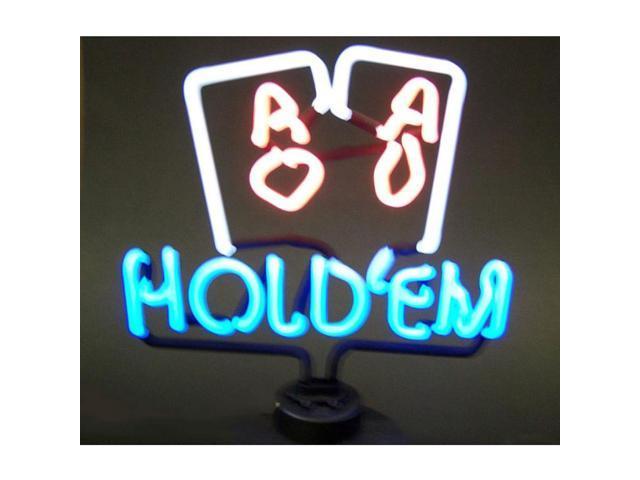 Neonetics Hold Em Poker Neon Sculpture