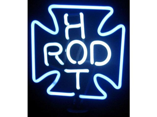 Neonetics Hot Rod Cross Neon Sculpture