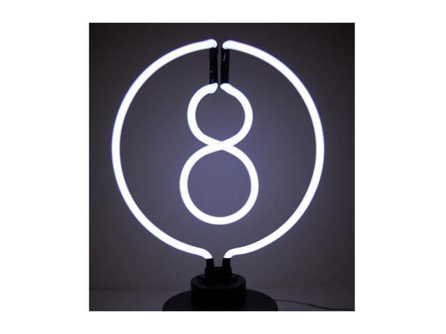 Neonetics 8 Ball Neon Sculpture