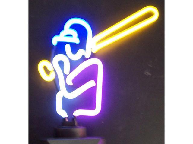 Neonetics Baseball Neon Sculpture