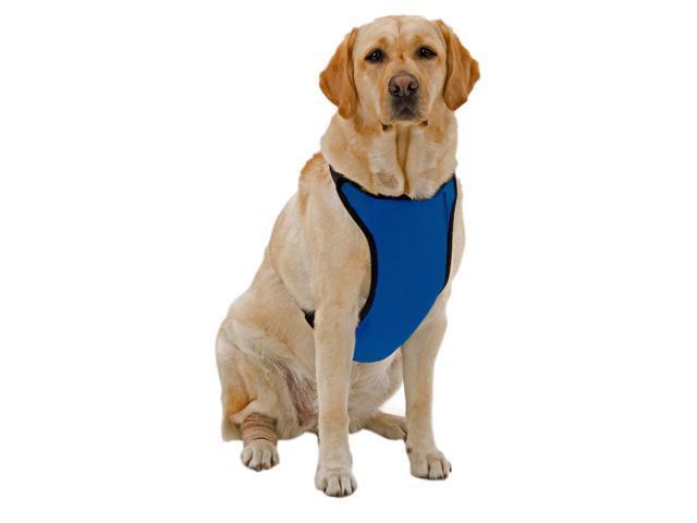 Kumfy Tailz Small Pet Animals Safe Protective Adjustable Neck Mesh Harness Small Royal Blue