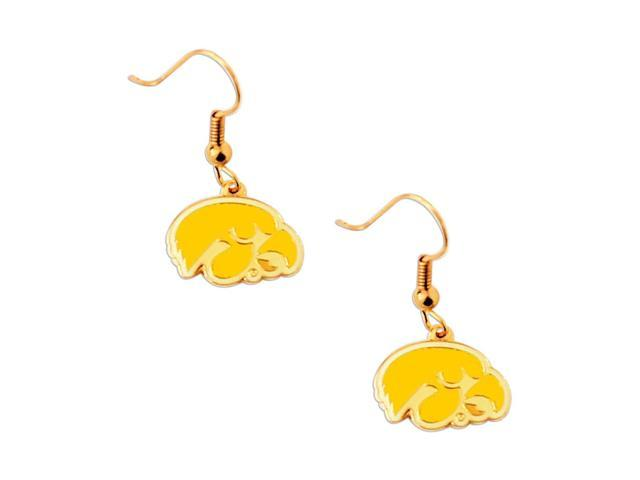 NCAA Iowa Hawkeyes Dangle Earring Charm Gift Set