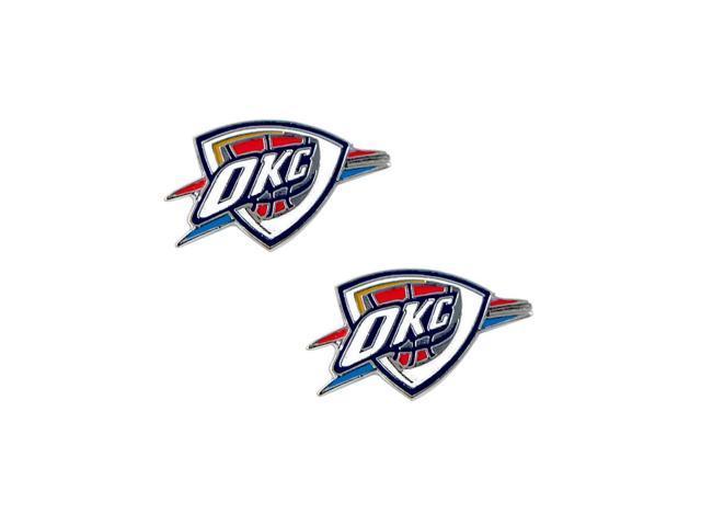 NBA Oklahoma City Thunder Post Stud Earring Charm Gift Set
