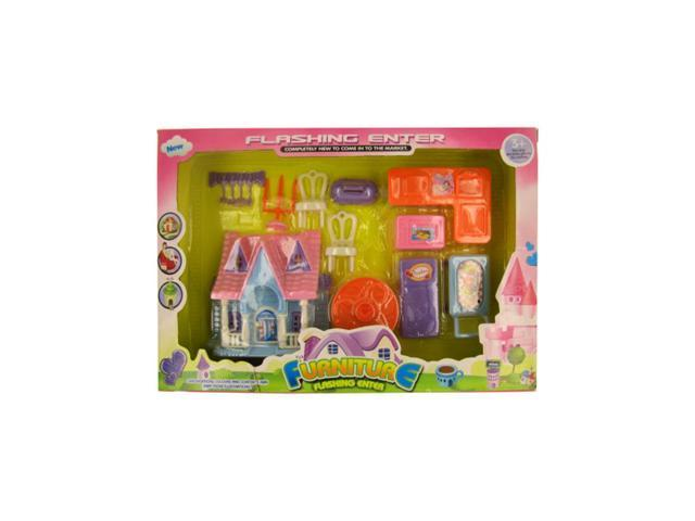 Kole Imports Colorful Furniture Play Set Pack Of 6