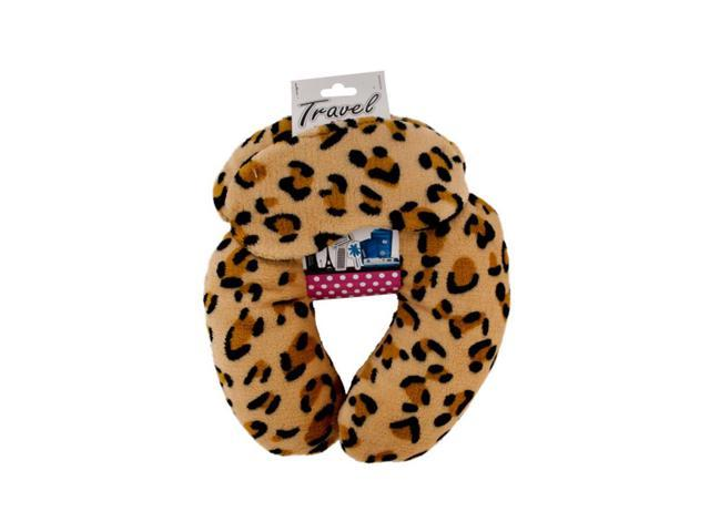 Kole Imports Travel Neck Pillow With Eye Mask Pack Of 1