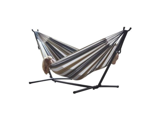 Vivere S Combo Double Desert Moon Hammock With Stand