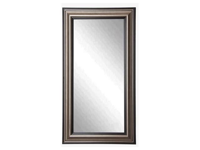 Rayne Home Decor Antique Silver Floor Mirror 305x 655