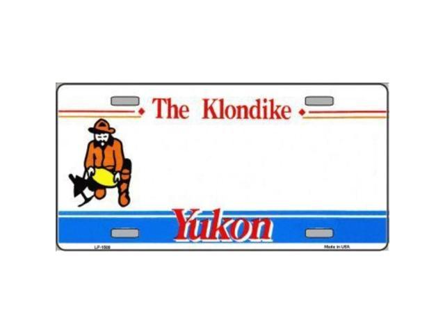 Smart Blonde Yukon Novelty Background Customizable Vanity Metal License Plate Tag Sign