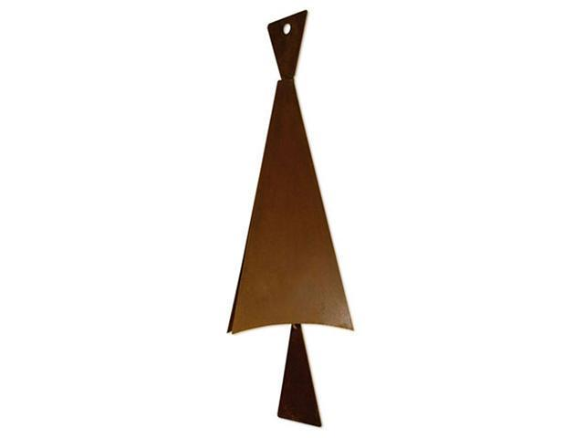 Patina Products Solid Triangle Bell - Large