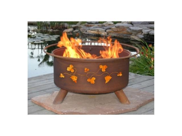 Patina Products Grapevines Classic Fire Pit - Natural Rust
