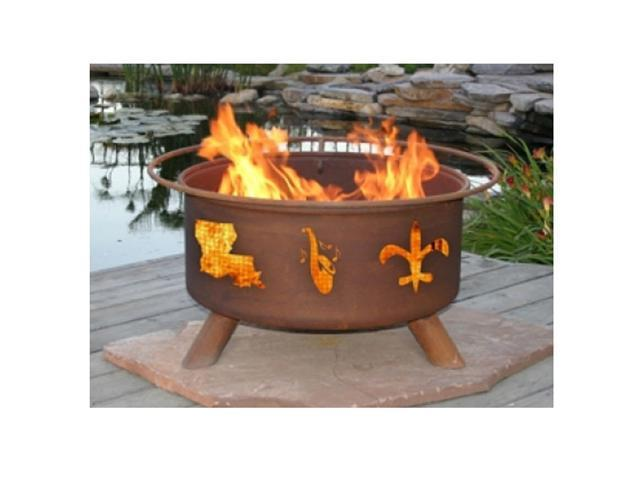 Patina Products Mardi Gras Classic Fire Pit - Natural Rust