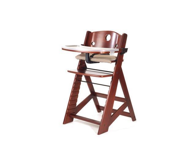 Keekaroo Mahogany Height Right High Chair with Tray