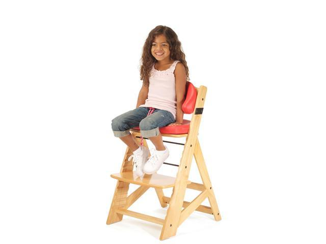 Keekaroo Height Right Kid's Chair with Comfort Cushions - Natural/Cherry
