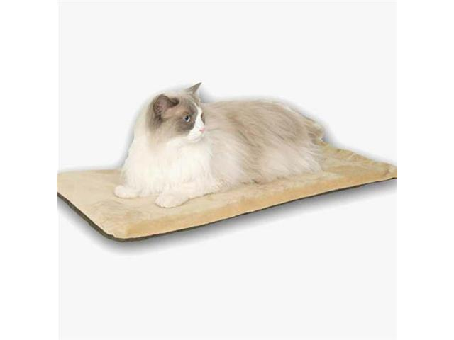 K&H Pet Products Thermo-Kitty Mat Mocha 12.5