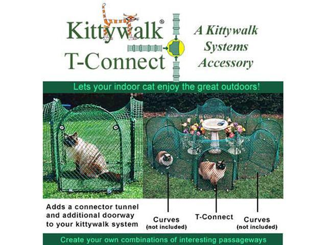 Kittywalk Single T-Connect Unit