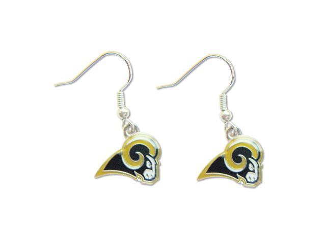St Louis Rams Dangle Logo Earring Set Charm Gift NFL