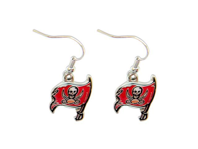 Tampa Bay BUCS Buccaneers Dangle Logo Earring Set Charm Gift NFL