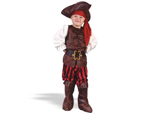 Toddler High Seas Pirate Boy Costume FunWorld 1555