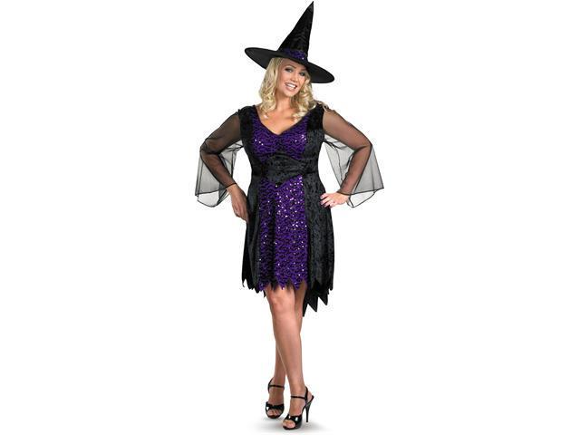 Adult Plus Size Brilliantly Bewitched Costume Disguise 23884