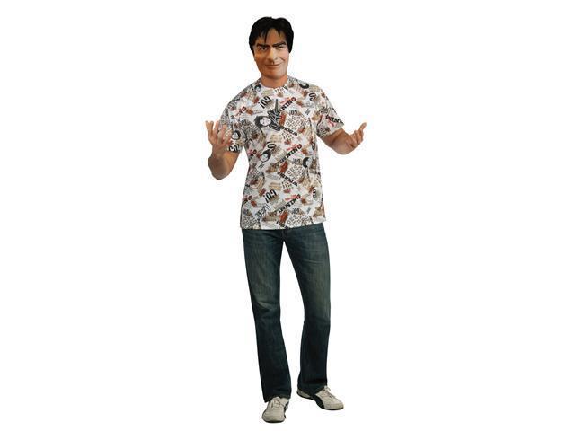 Charlie Sheen Adult Costume Kit