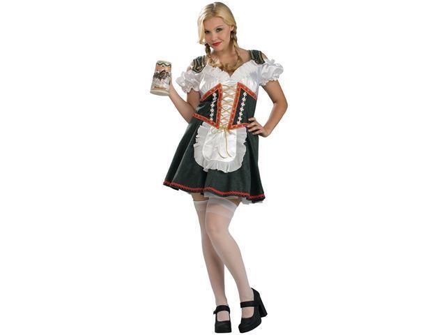 Beer Garden Girl Plus Adult Costume