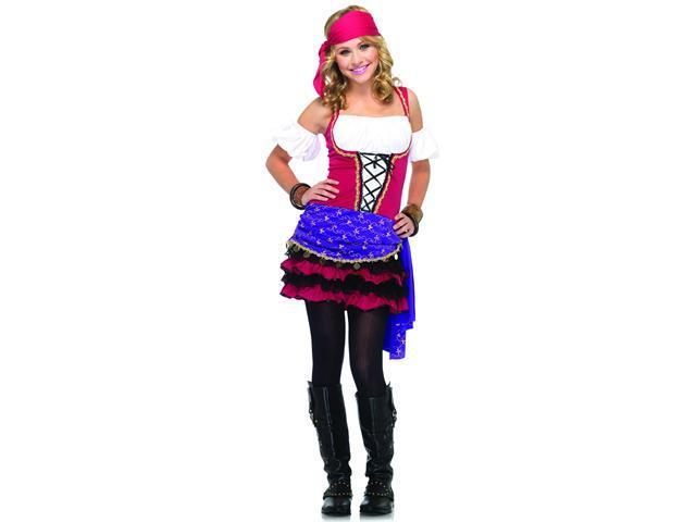Crystal Ball Gypsy Teen Girl's Costume