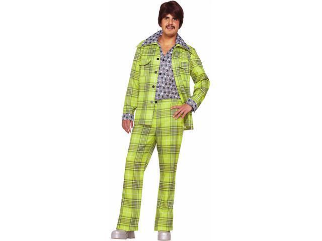 70s Plaid Leisure Suit Adult Costume