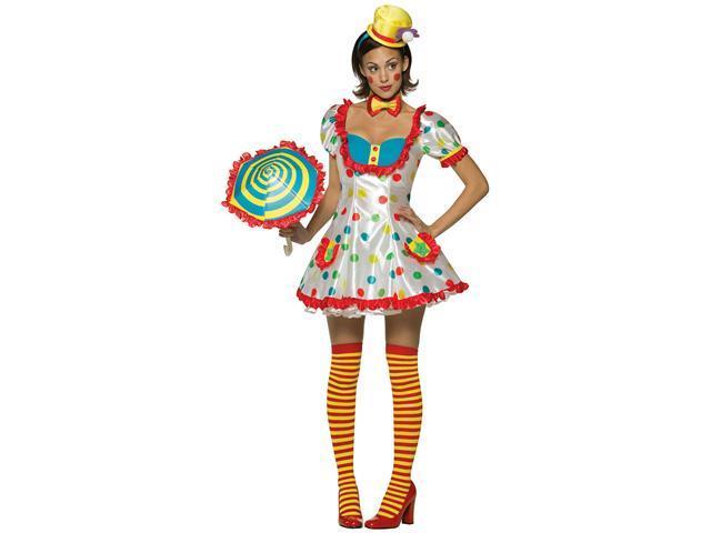 Colorful Clown Women's Costume