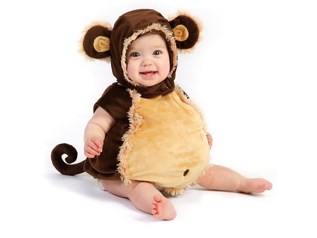 Toddler Melvin Monkey Costume Princess Paradise 4446